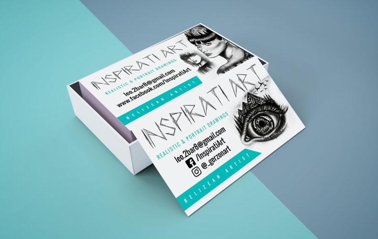 Inspirati Art – Business Card
