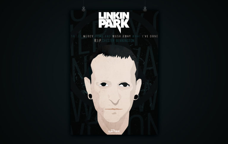 Chester Bennington (Linkin Park) R.I.P. – Poster