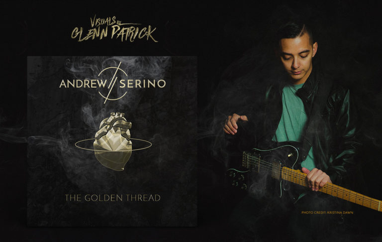 "Andrew Serino's ""The Golden Thread"" Album Art & Marketing"