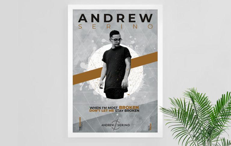 Andrew Serino Merch Poster