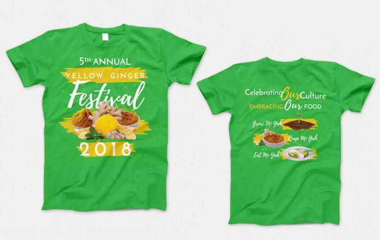 Ginger Fest 2018 T-Shirt