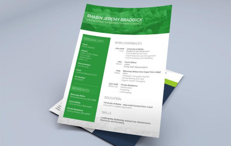 Résumé Designs