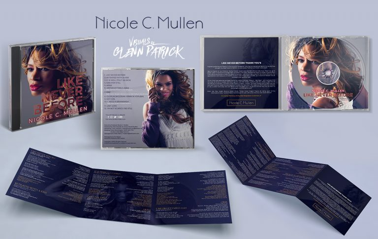 "Nicole C. Mullen ""Like Never Before"" Album Art & Marketing"