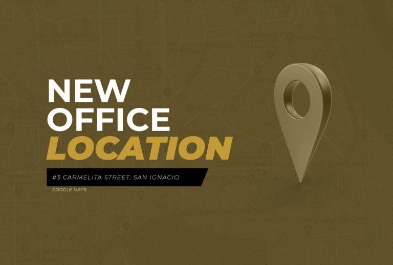 VBGP New Office Location (November 2020)